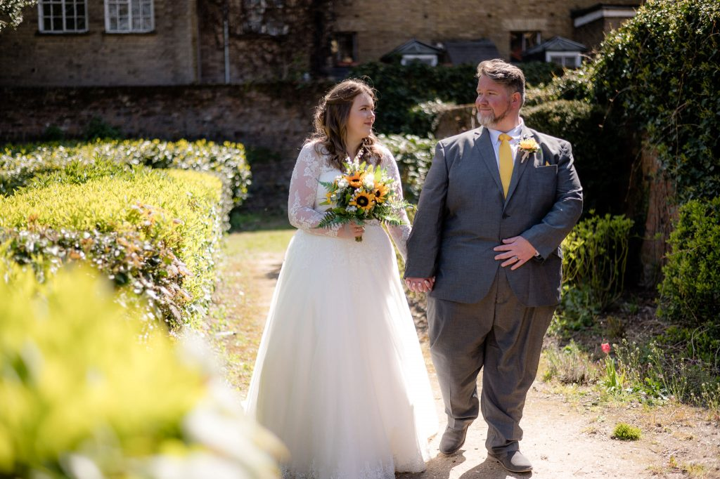 Wedding photos in cheshunt