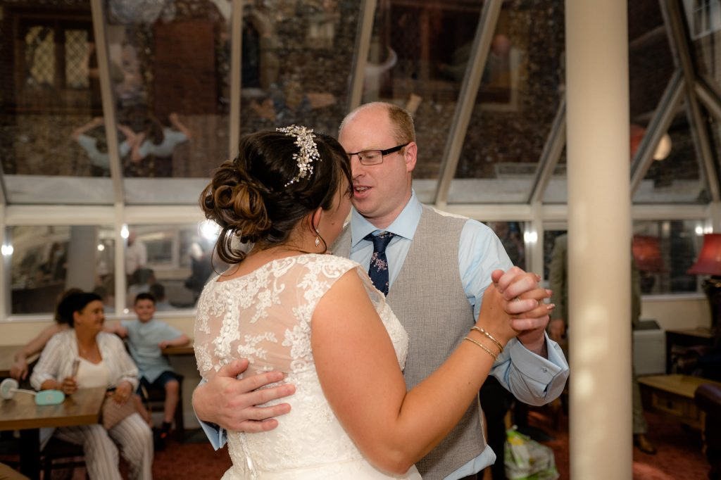 the first dance at hitchin priory