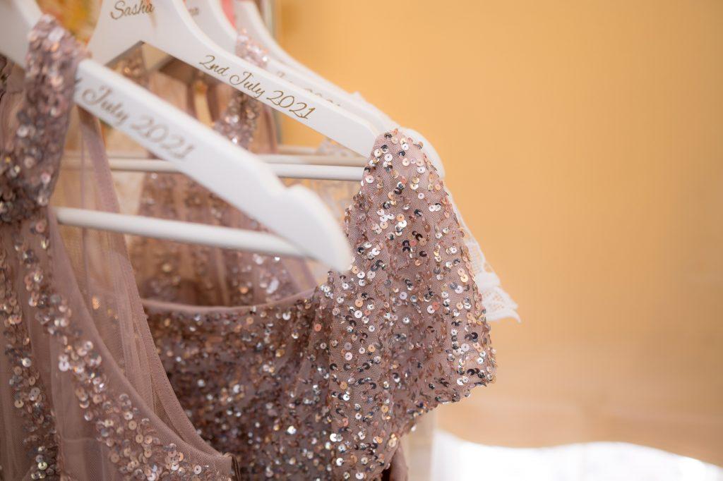 bridesmaid dresses at hitchin priory